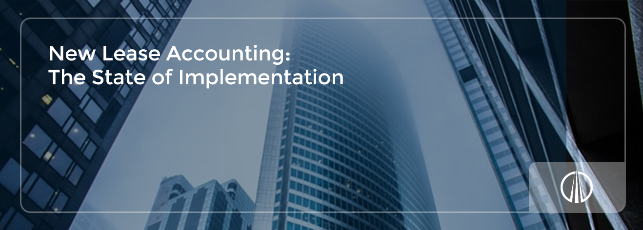 New Lease Accounting - The State of Implementation